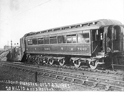 Hall Road train disaster